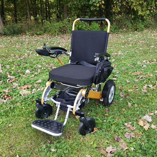 FCX Lightweight Motorized Wheelchair