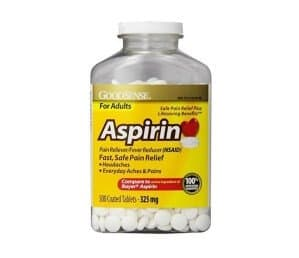 Aspirin acetaminophen and ibuprofen for sale