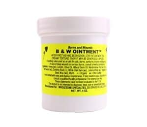 Burns and wounds ointment