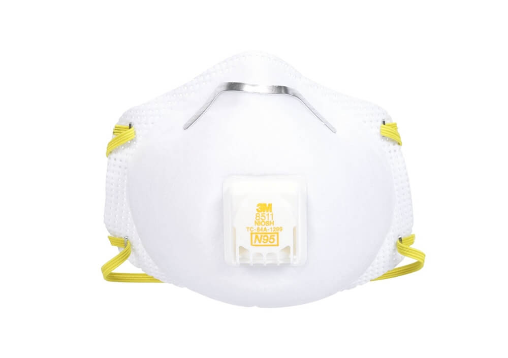 3m pro sanding and fiberglass vented respirators 8511 5 masks n95