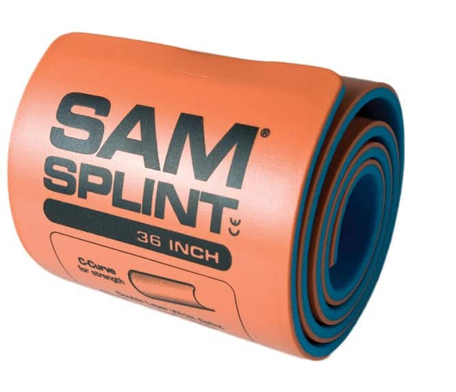 How To Use A Sam Splint To Treat Bone Fractures