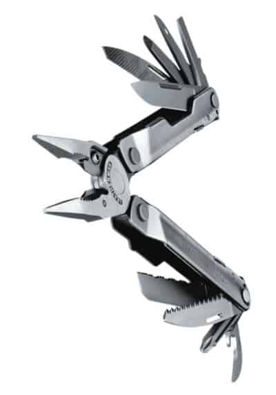 Leatherman rebar tools opened