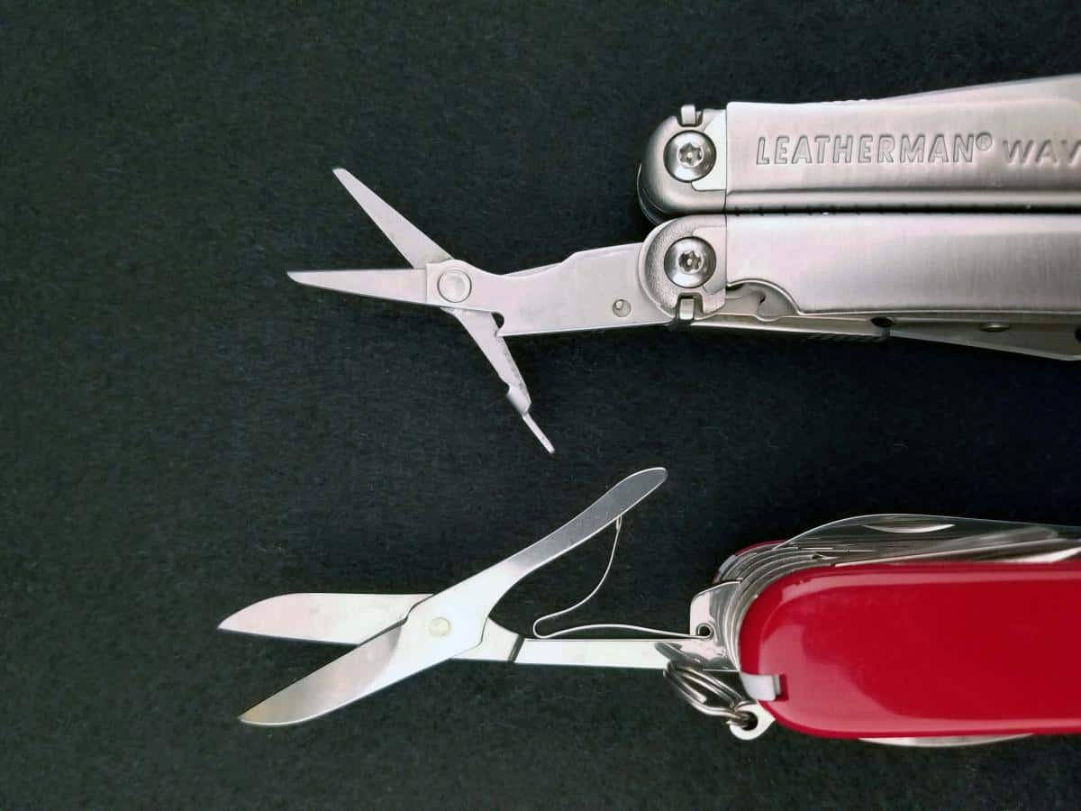 The Leatherman Wave Vs The Victorinox Swiss Army Knife