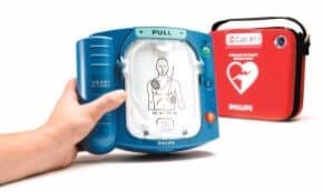 Automated External Portable Defibrillator or AED for sale