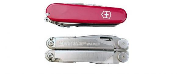 The Leatherman Wave Multi Tool vs The Victorinox SwissChamp Swiss Army Knife