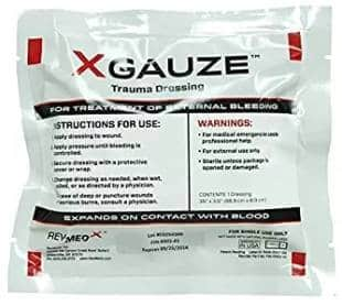 XGauze to Stop Bleeding